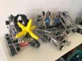 Prototipos de robots creados para 'Robot Makers 2017'