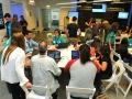 Mentores y participantes del Healthcare Innovation Replicathon