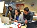 Jóvenes participantes del Healthcare Innovation Replicathon