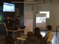 """Presentadores """"evtc Hackathon"""" por Evertec en Bayamón"""