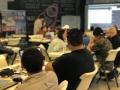 Participantes del evento Blockchain in IoT Workshop