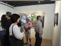 Público presente disfutando de la exhibición