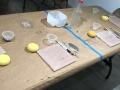 Materiales para iniciar el tallado en barro