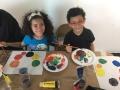 Niños participantes del taller