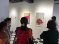 Participantes Recorriendo el Museo Francisco Oller
