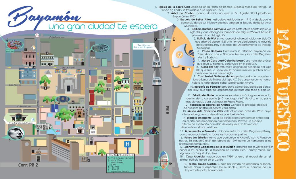 Mapa Turístico de Bayamón