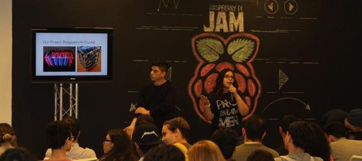 Fotos: Raspberry Pi Jam en Engine-4