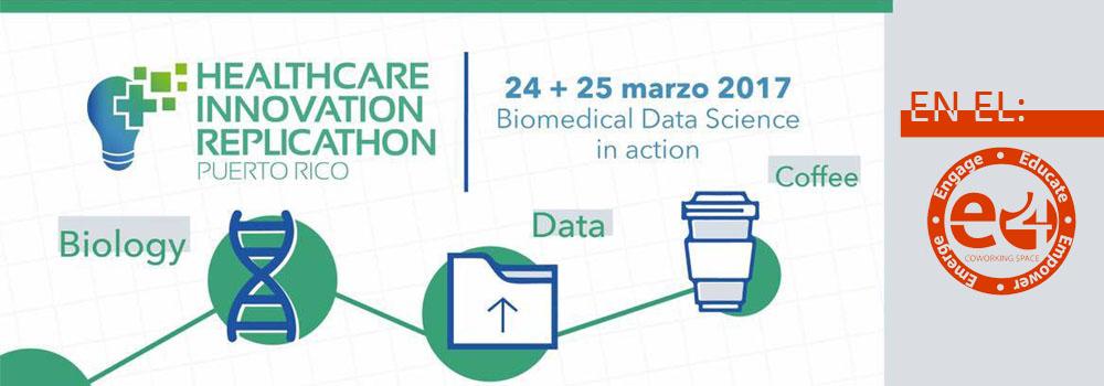 Healthcare Innovation Replicathon, 24 y 25 de marzo.