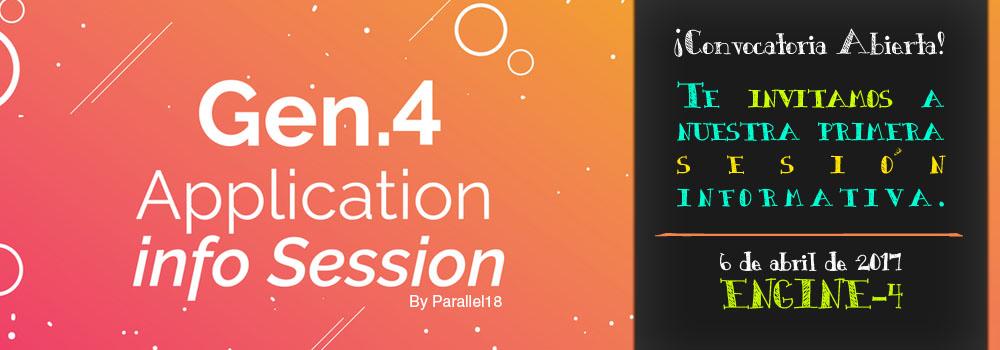 Application Infosession en el Engine-4
