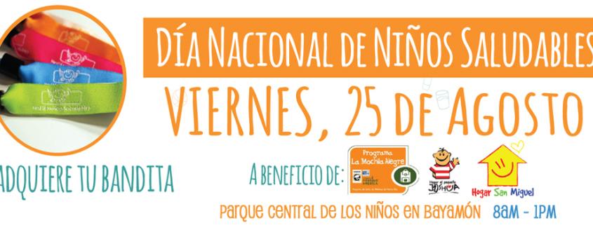 Día Nacional del Niño Saludable