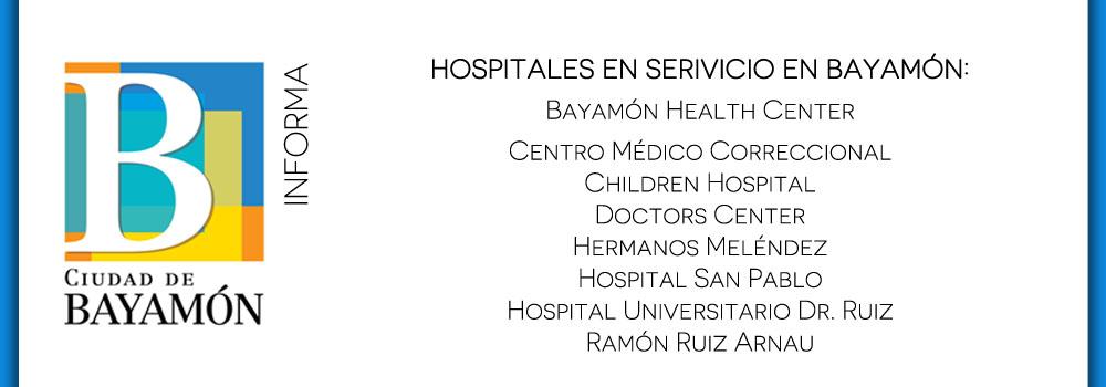 Hospitales en servicio en bayamón