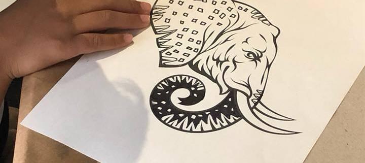 Galería Taller: Dibujo de Patrones