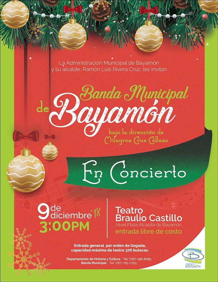 Banda Municipal de Bayamón en Concierto