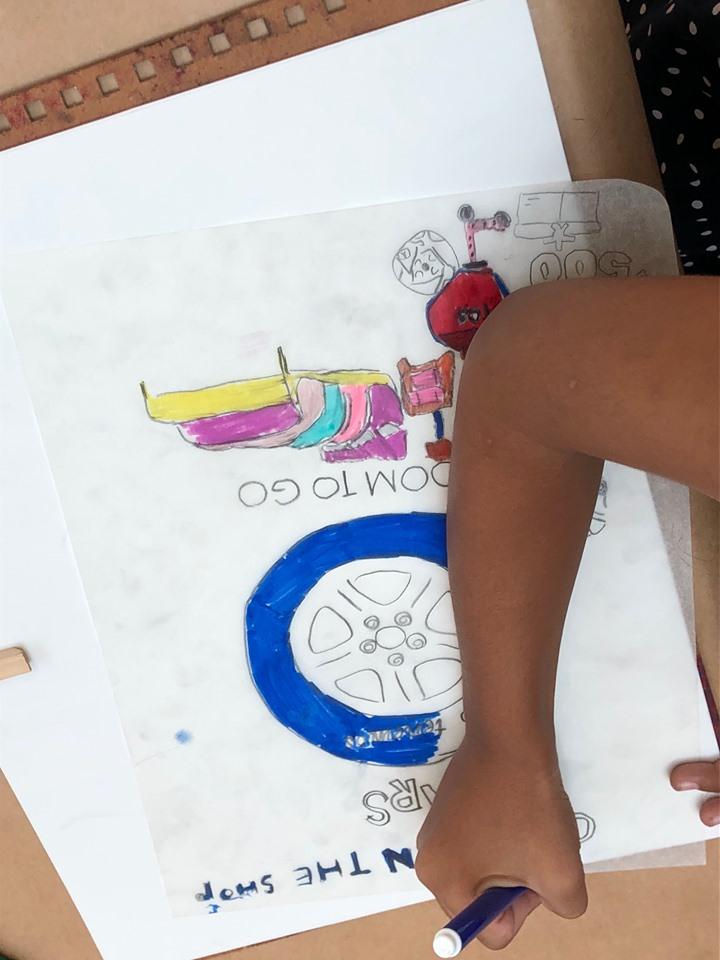 "Taller: ""Creando un Dibujo Mixto"""