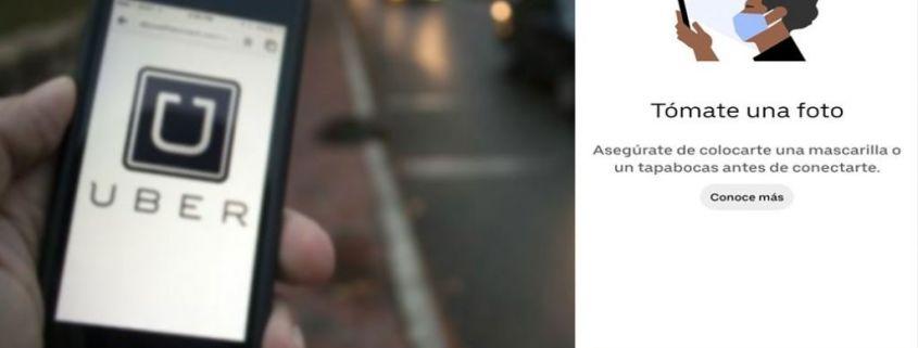 Uber Presenta Tecnología de Verificación de Uso de Mascarillas