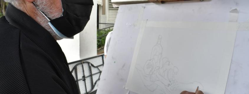 """Galería: """"Taller de Grafito"""" Recreando un Bodegón"""